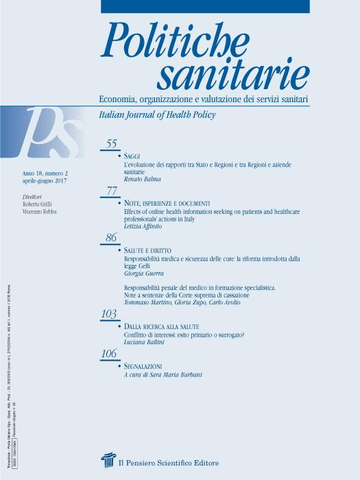 2017 Vol. 18 N. 2 Aprile-Giugno